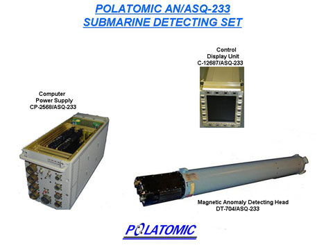 AN/ASQ-233 Magnetic Airborne Detection System
